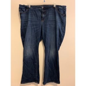 Old Navy 26W Dark Wash Bootcut Jeans